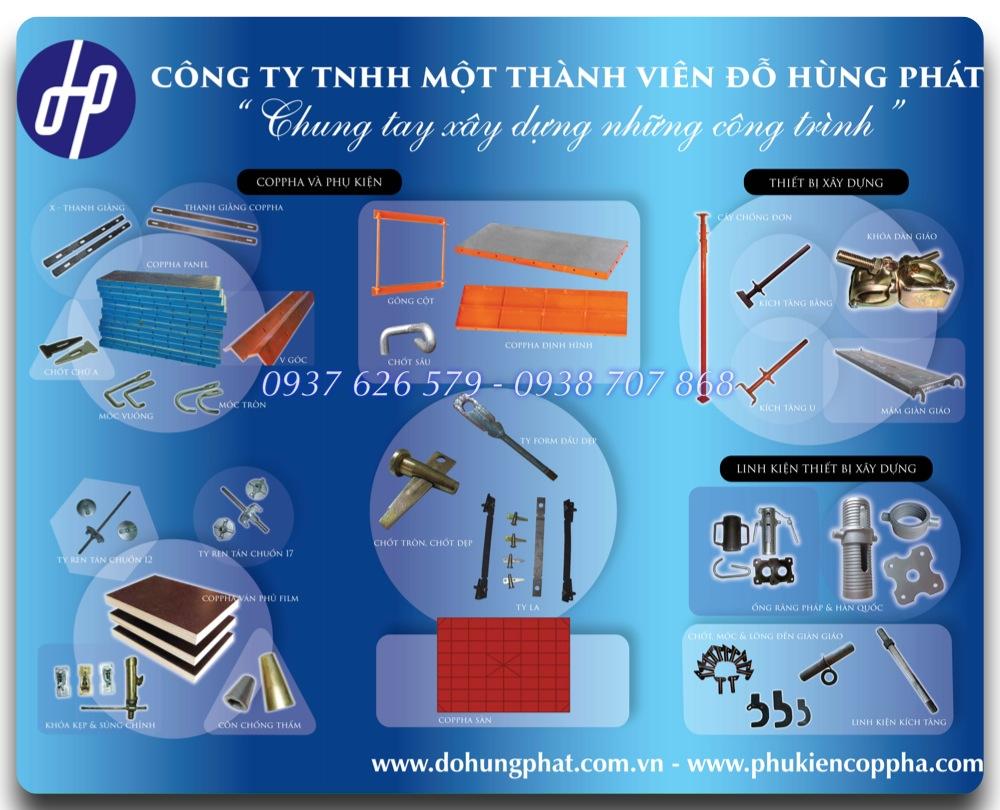 sản phẩm chính Đỗ Hùng Phát