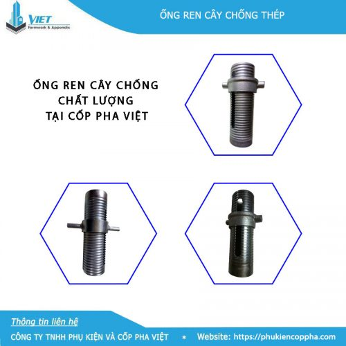 3 loại ống ren chống tăng hàn quốc