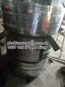 Tôn kẽm sản xuất frame tie